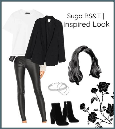 BTS Suga bs&t   inspired look