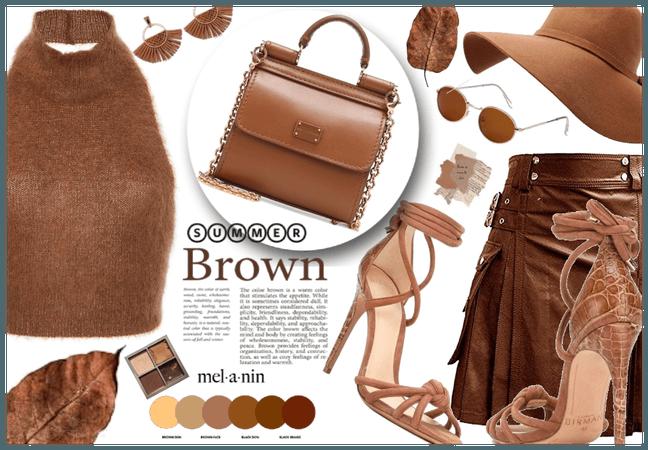 Summer brown Glow