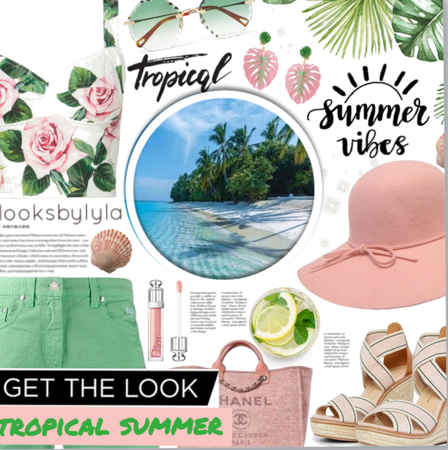 Get The Look:Summer state of mind meets tropical