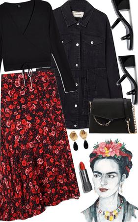 style Frida Khalo