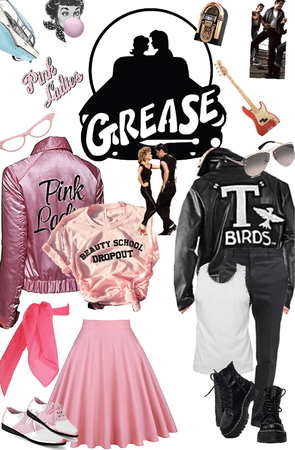 Grease Couples Costume