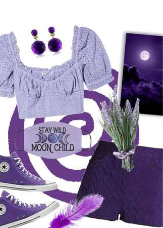 Shorts and a Top in Perfect Purple!