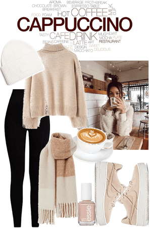 Cappuccino Shop Outfit