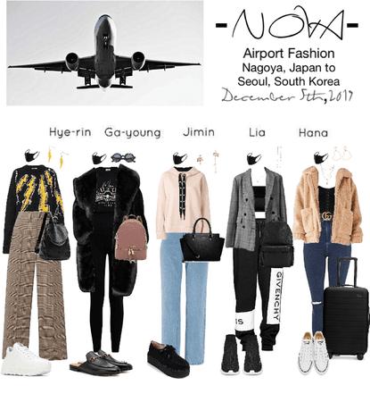 -NOVA- Airport Fashion to Seoul, South Korea