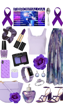 Dress purple for fibromyalgia awareness