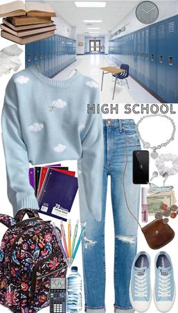 High School OOTD