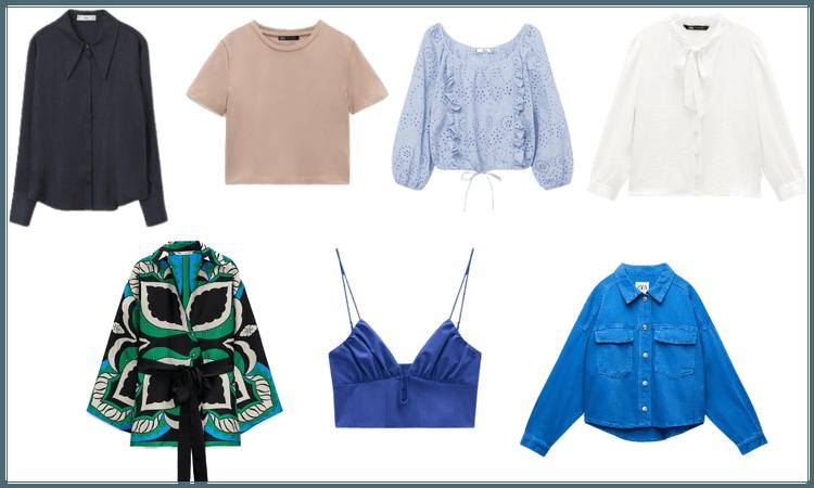 blusa 7 estilos