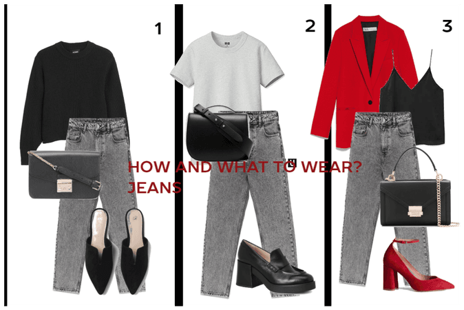 HOW AND WHAT TO WEAR?JEANS