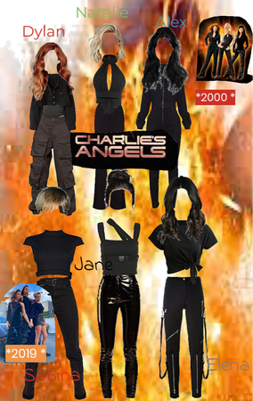 Charlie's Angels from * Charlie's Angels *