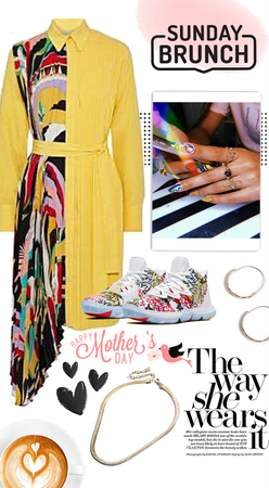 Mother's Day Brunch // Street Style