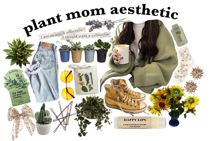 plant mom aesthetic