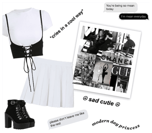 Black/White Outfit