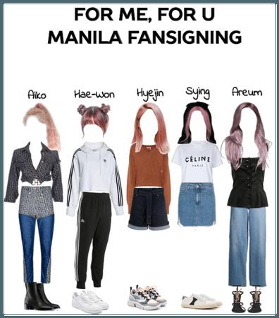 For Me, For U Manila Fansigning