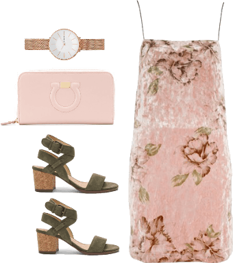 girly spring look