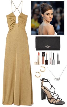 Emma watsons dress