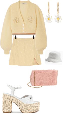yellow sunshine fit ☀️