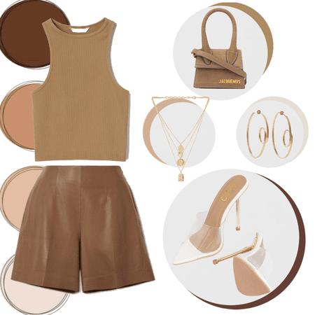 brown circles