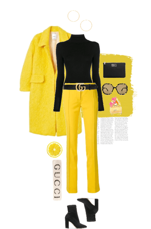 lemony yellowy [color collection]