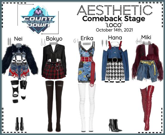AESTHETIC (미적) [MCOUNTDOWN] Comeback Stage