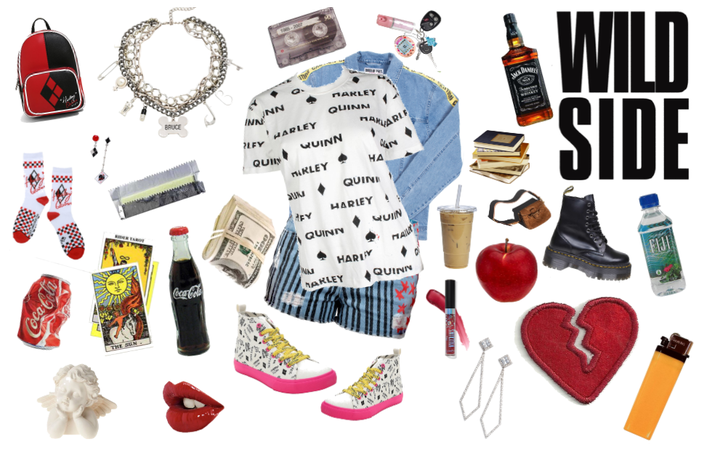 Harley Quinns Amazon Shoppin Cart