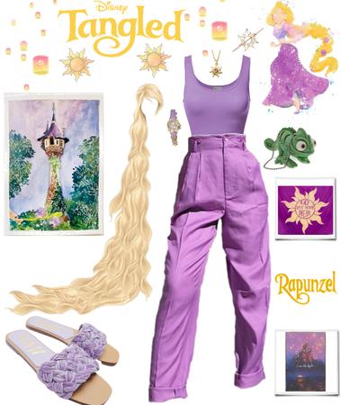 Tangled - Modern Day Rapunzel