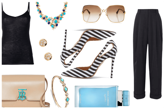Blue and Chic ... and Summery
