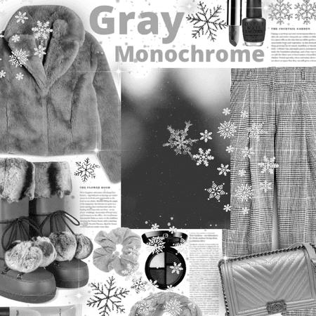 gray monochrome