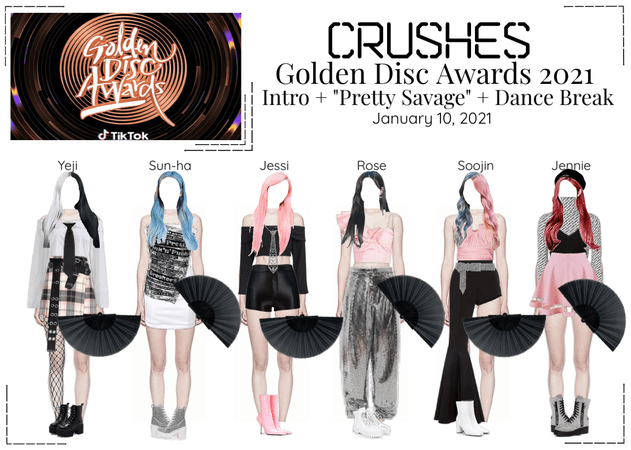 Crushes (호감) Golden Disk Award 2021