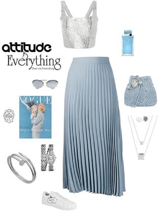 Silver blue