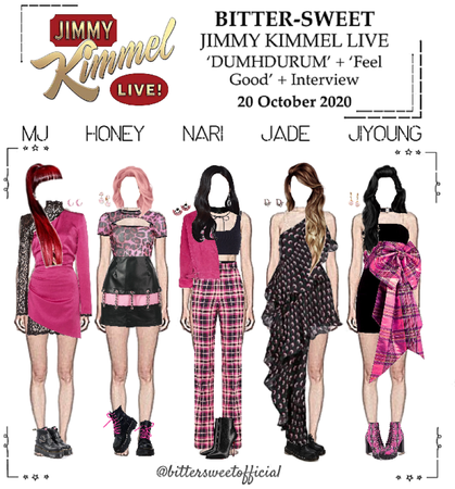 BITTER-SWEET [비터스윗] Jimmy Kimmel Live 201020