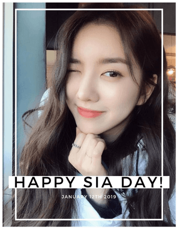 [HEARTBEAT] HAPPY SIA DAY!