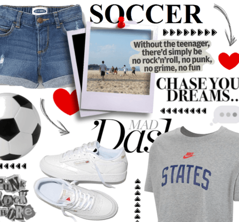 Mad Dash; Soccer Chick
