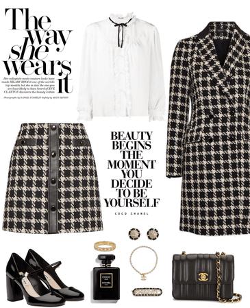 Mini Skirt + Chanel