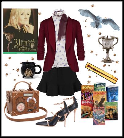 J. K. Rowlings Birthday Harry Potter