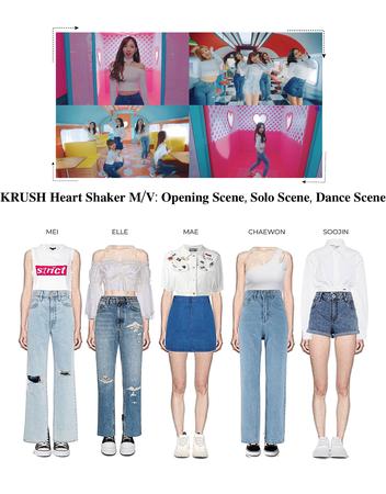 KRUSH Heartshaker M/V Opening Scene, Solo Scene, Dance Scene