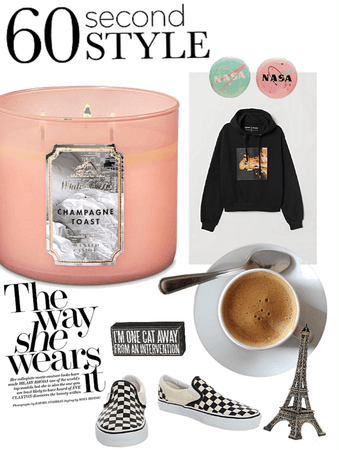 Home outfit within 60 seconds