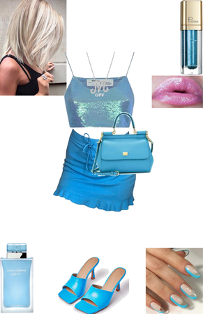 Megan Vandergeld's Blue Outfit