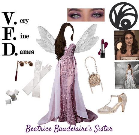 Beatrice Baudelaire's Sister - ASOUE OC