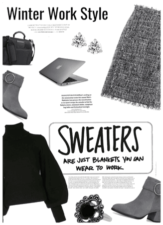 Sweaters are blankets u can wear to work!