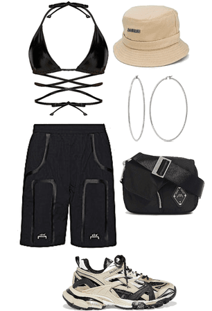 sporty & a mix of luxe