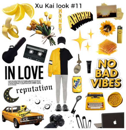 Xu Kai look #11 by Giada Orlando 2020