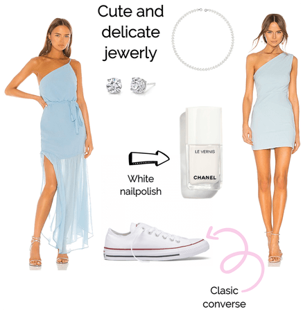 aquamarine inspired outfit