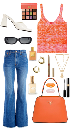 ORANGE AND Pink Fit