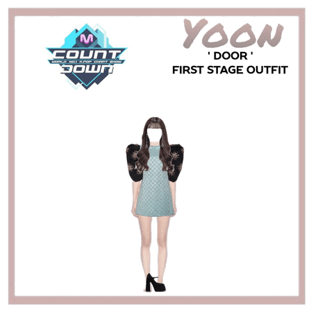 Yoon ' door ' first stage