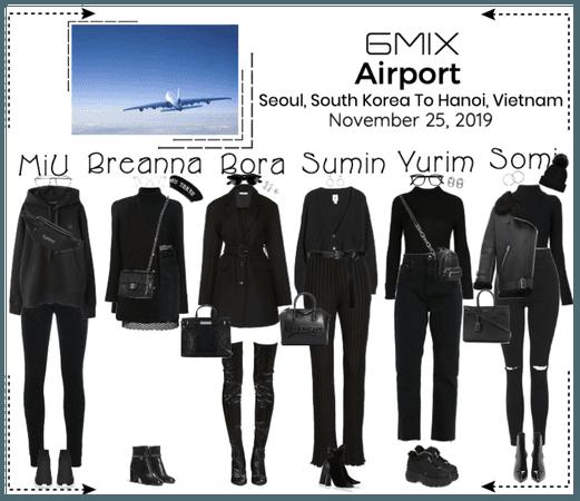 《6mix》Airport   Seoul, SK To Hanoi, Vietnam