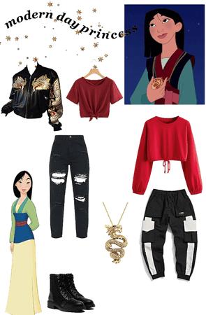 Modern Princess - Mulan