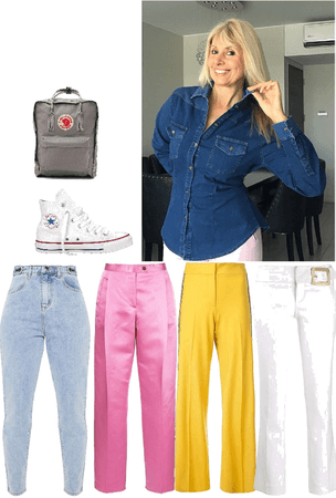 Camisa de jeans