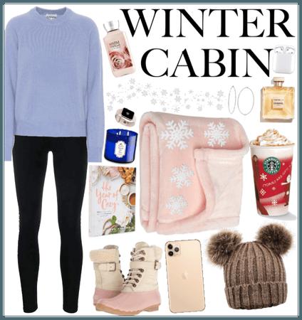 Winter Cabin❄️