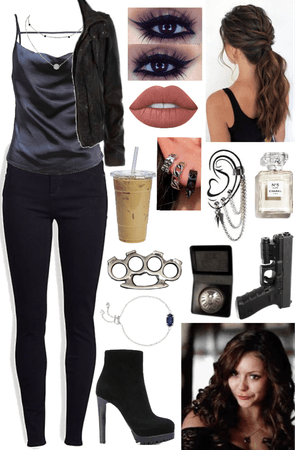 Katherine Pierce Inspired Going to New York Outfit