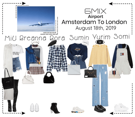 《6mix》Airport | Amsterdam To London